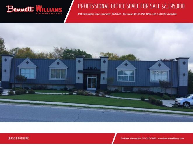 PROFESSIONAL OFFICE SPACE FOR SALE AND LEASE