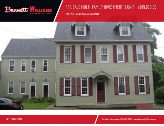 FOR SALE MULTI-FAMILY INVESTMENT, 3 UNIT