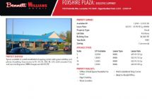 Foxshire Plaza (Multiple Spaces Available) $22.95-$25.95psf (NNN)